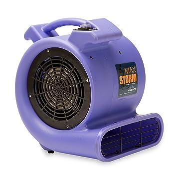 Charming Max Storm 1/2 HP 2550 CFM Durable Lightweight Air Mover Carpet Dryer Blower  Floor