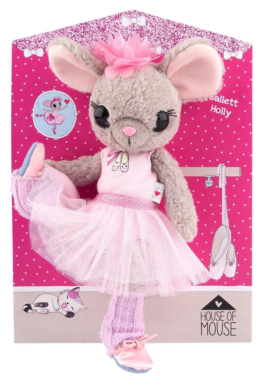 House of Mouse Ratón de peluche de ballet, 25 cm a tarjeta, 8880: Amazon.es: Juguetes y juegos
