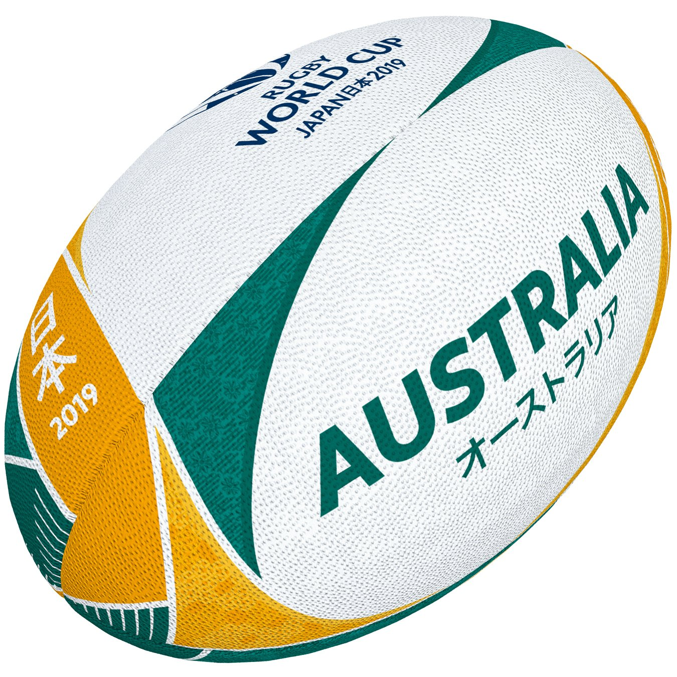 Gilbert Coupe du Monde de Rugby Japon 2019Boule de Supporter de l'Australie Grays