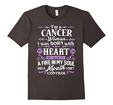 Mens Cancer Shirt Im A Women T Zodiac Birthday Gift 2XL