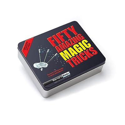 Marvin's Magic Fifty Amazing Magic Tricks (Tin): Toys & Games