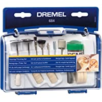 20-Piece Dremel Clean & Polish Rotary Tool Accessory Kit with Case
