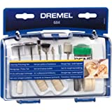 Dremel 684-01 20-Piece Cleaning & Polishing Rotary Tool Accessory Kit with Case- Includes Buffing Wheels, Polishing Bits, and