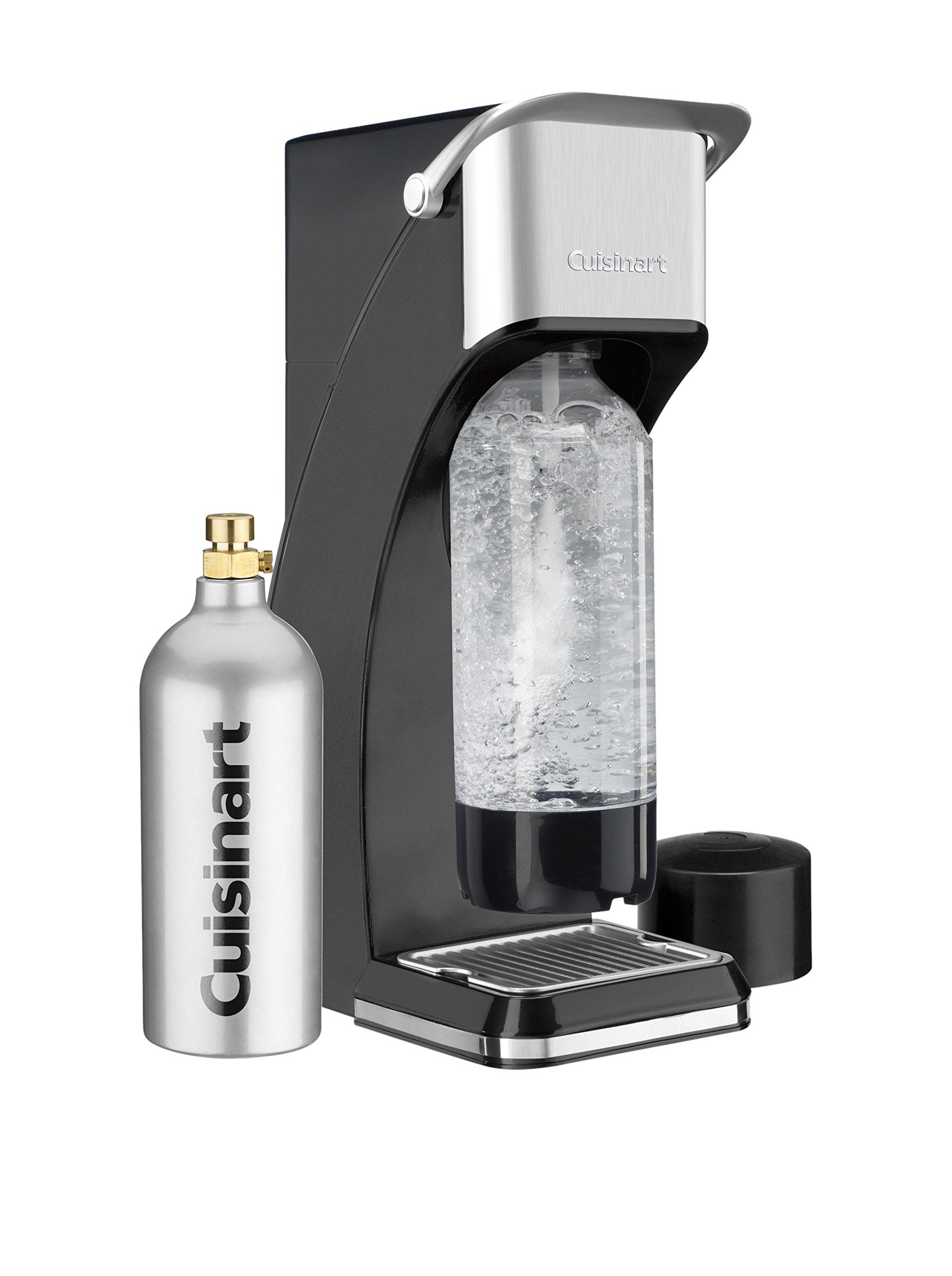 Cuisinart SMS-216BK Sparkling Soda Maker, Black