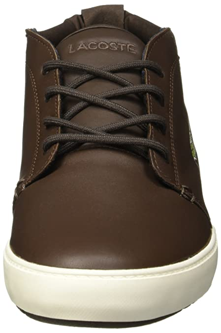 c65dfee4b Lacoste Mens Mens Ampthill Terra Trainers in Dark Brown - UK 12   Amazon.co.uk  Shoes   Bags