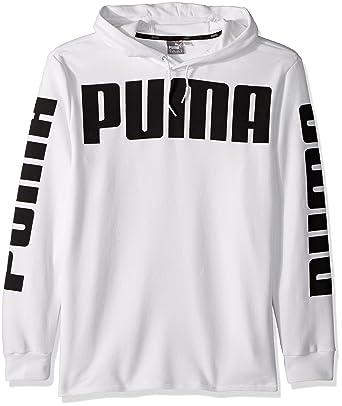 43a5572b46e57 Amazon.com: PUMA Men's Rebel French Terry Hoodie: Clothing