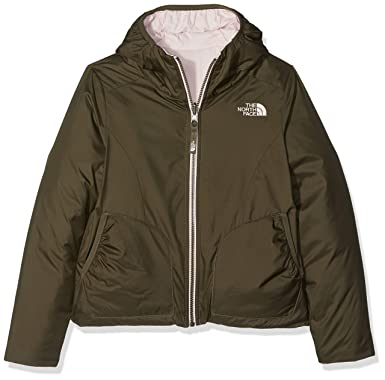 288dc58226e1 The North Face Girl s Reversible Perrito Jacket - New Taupe Green - XXS