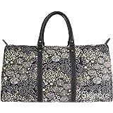 Signare Tapestry Holdall / big Travel Bag in Gustav Klimt Kiss Design