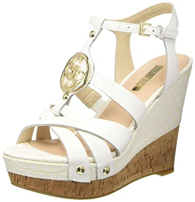 890fd2b51b0 Guess Women s Lea03 Gladiator Sandals