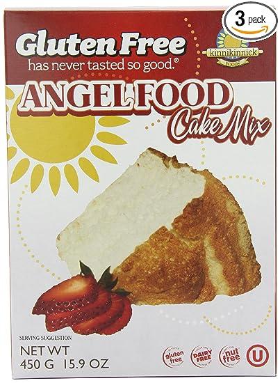 Com Kinnikinnick Gluten Free Angel Food Cake Mix 15 9 Ounce Pack Of 3 Grocery Gourmet