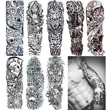 Arm Tattoo Design On Paper