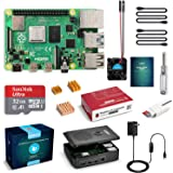 LABISTS Raspberry Pi 4 4GB Starter Kit with 32GB Micro SD Card Preloaded Raspberry Pi OS (Raspbian), Black Case…