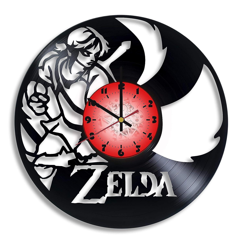 Amazon.com: The Legend of Zelda Game Vinyl Wall Clocks for ...