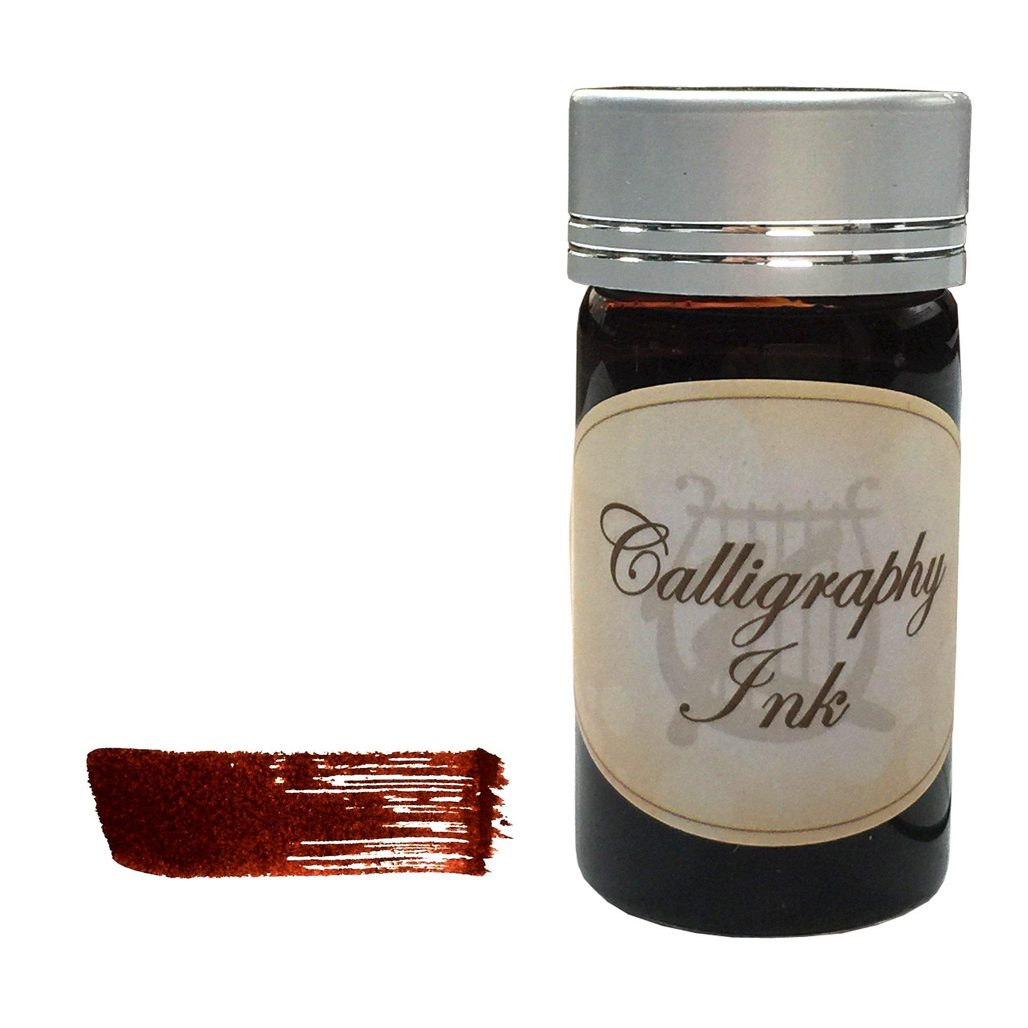 Kentaur Standard Bottle Ink Set - 25 ml (5 Color) - For Fountain Pens, Dips Pens, Ink Refills, and Calligraphy by Kentaur (Image #7)