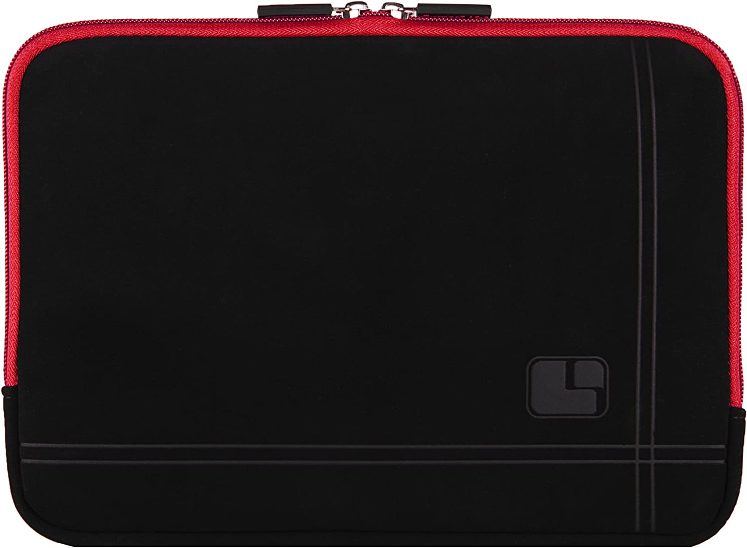 8 inch Black Red Tablet Bag Carrying Case for Lenovo Tab 4, 4+, Yoga Tab 3