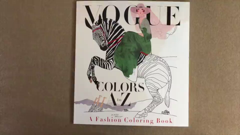 At The Time That I Write This Review There Two Different Vogue Coloring Books Have Just Been Released Other One Is Based On British And