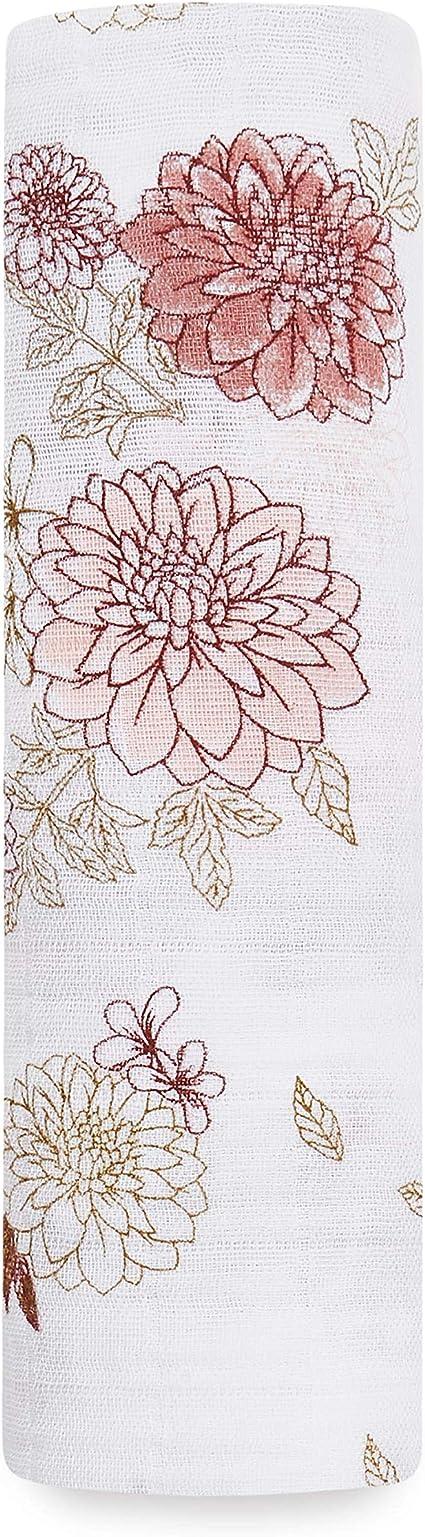 Aden + Anais 100% algodón Muselina Dahlias - Dahlias: Amazon.es: Bebé
