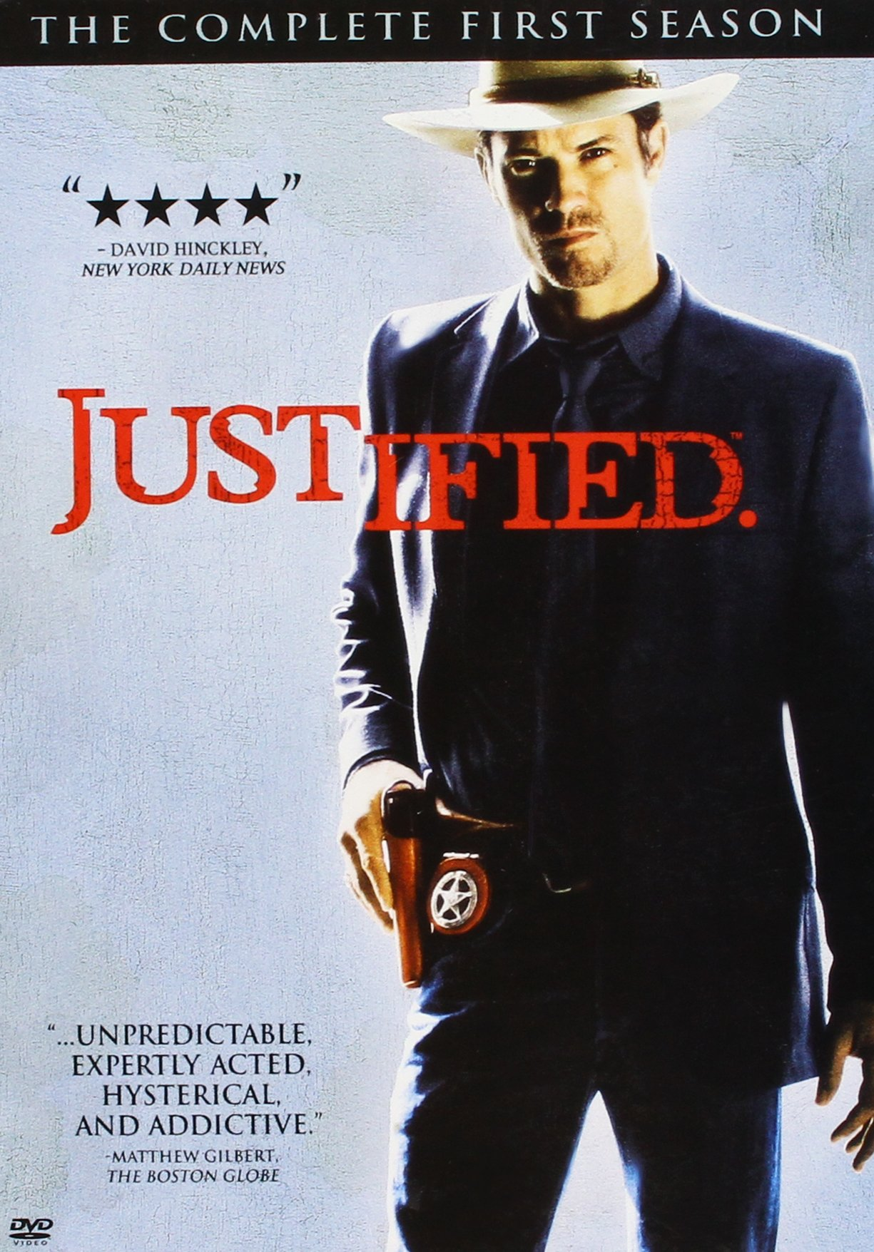 Justified : Complete Seasons 1- 5 Bundle Collection (15-Disc, DVD, 2014) by