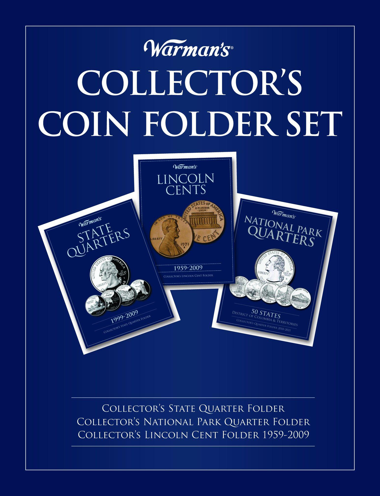 Warman's Collector's Coin Folder Set (Warman's Collector Coin Folders)