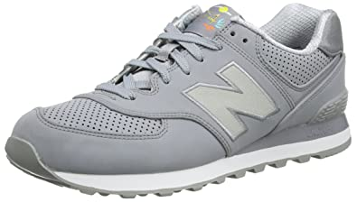 New Balance ML373GKG, Baskets Homme, Gris (Grey/Black), 45 EU