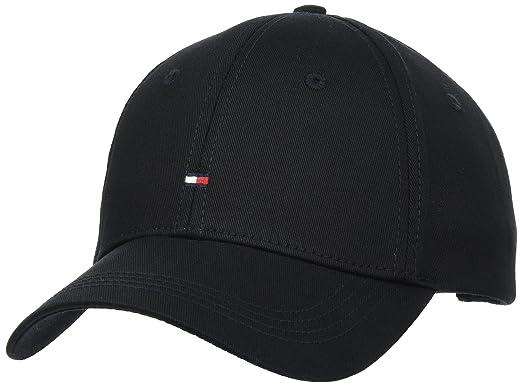 Tommy Hilfiger Classic Cap, Gorra de béisbol para Mujer, Negro ...