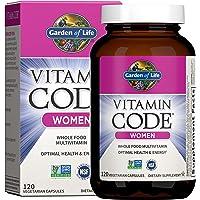 Garden of Life Multivitamin for Women, Vitamin Code Women's Multi, Whole Food Womens Multi, Vitamins, Iron, Folate not…