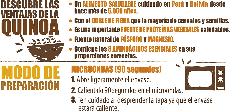 Brillante Benefit Legumbres Quinoa Verduras 250G - [Pack De 16 ...