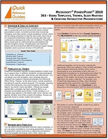 ms powerpoint 2010 templates