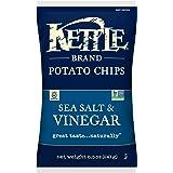 Kettle Brand Potato Chips, Sea Salt and Vinegar, 8.5 Ounce