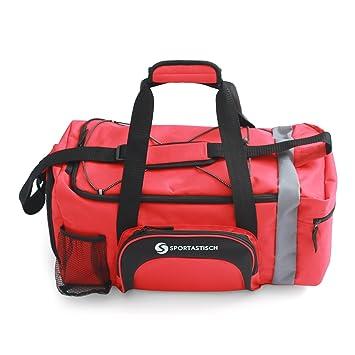 Super Moderne Nylon Bagages Sporty Gear Bag Sac Voyage Sac de Sport Sac de Sport Avec Compartiment ¨¤ Chaussures 8xovT1