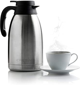 Cresimo Double Walled Thermal Coffee Carafe