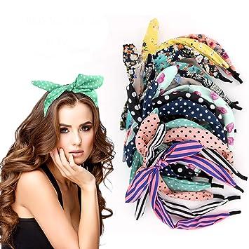 Amazon.com   6 Pcs Colorful Headband 779c36f0f2a3