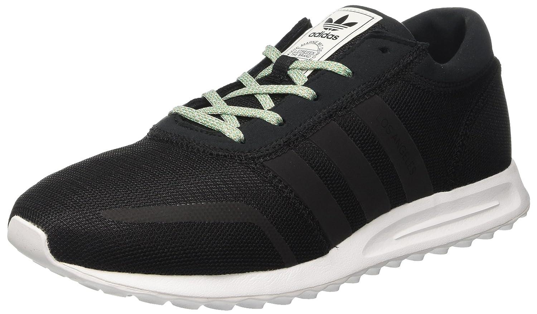adidas Herren Los Angeles Sneaker Low Hals Schwarz Core Black/Core Black/Ftwr White