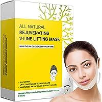 Dubbele kinverkleiner en -verwijderaar, V Line Lifting Face Mask, Double Chin Reducer & Remover - Liftt, trekt kaaklijn…