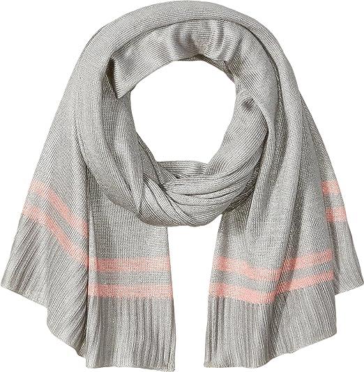 24d9c228e Amazon.com: Orchid Row Women's Prep Stripe Jersey Knit Basic Scarf ...