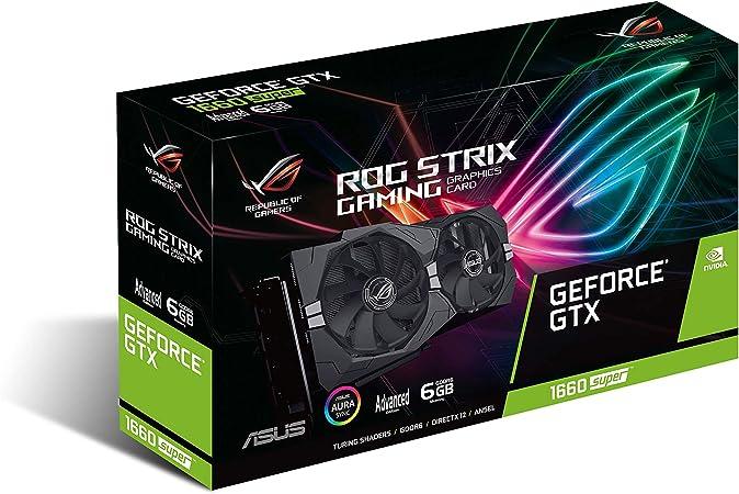ASUS ROG Strix GeForce GTX 1660 Super Advanced Edition: Amazon.de: Computers & Accessories