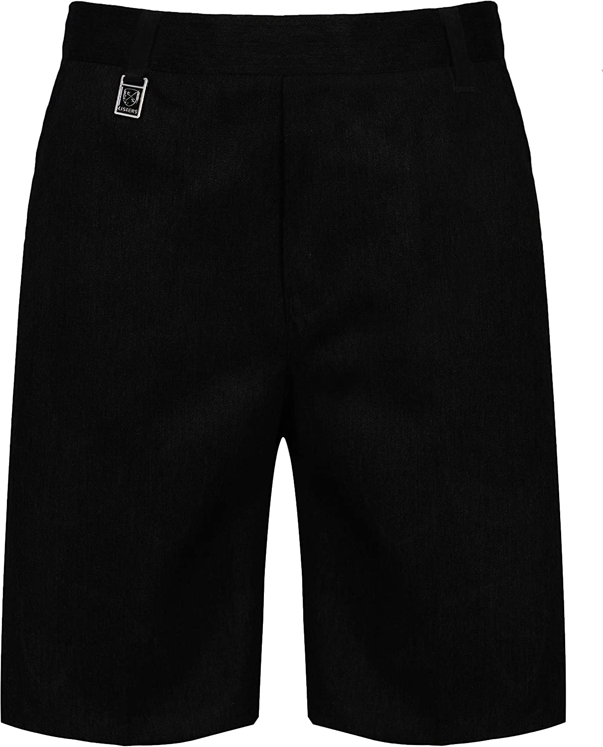 Listers Schoolwear Boys Pull Up School Elasticated Trousers Black Grey Navy Age 2 3 4 5 6 7 8 9 10 11 12 13