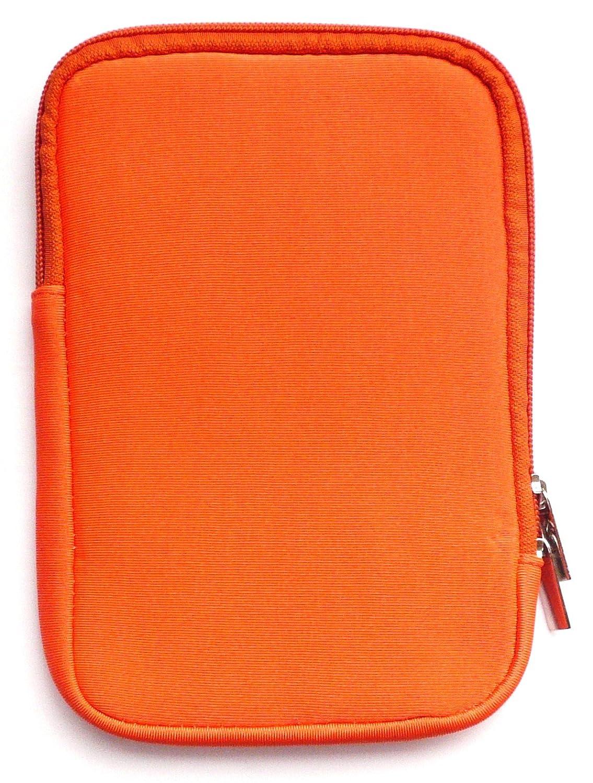 Emartbuy Orange Neopreno Resistente Al Agua Suave Postal Caso ...