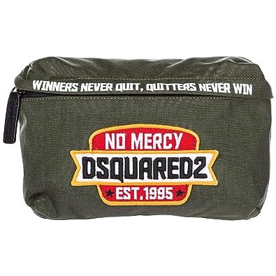 Dsquared2 men s belt bum bag hip pouch green  Amazon.co.uk  Shoes   Bags 5fbb02044d48f