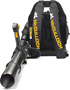 McCulloch GB 355 Backpack Leaf Blower - Large and Powerful