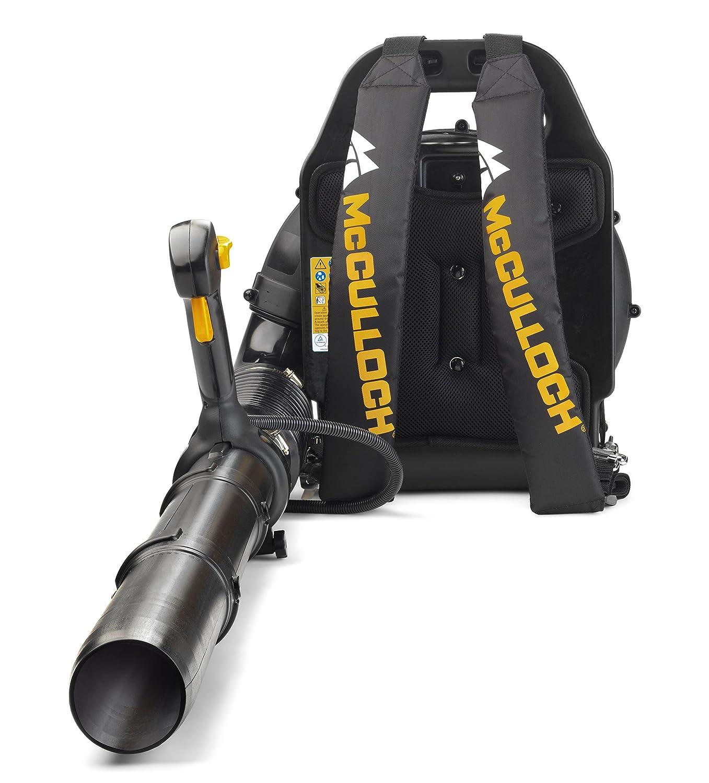 Mcculloch GB355BP Petrol Backpack Leaf Blower, 46 cc