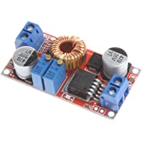NOYITO DC to DC 5A Adjustable Buck Regulator Power Supply Module CC CV DC 5V - 32V Buck to 0.8V - 30V Output ADJ Constant Voltage Constant Current Step-Down Power Supply Module LED Driver Board