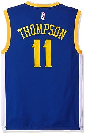 reputable site d1d7e 1f534 NBA Golden State Warriors Klay Thompson #11 Men's Replica ...