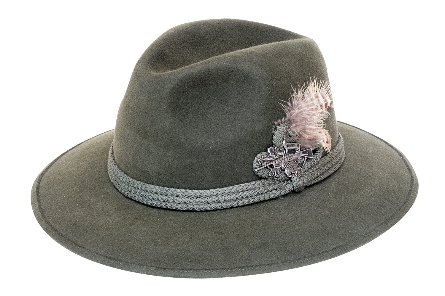 Amazon.com  Felt Depot Munich Wide Brim Rabbit Fur Felt Hat  Clothing 649002887