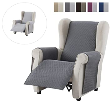 Textilhome - Housse Fauteuil Relax Adele, Taille 1 Places-. Housse ...