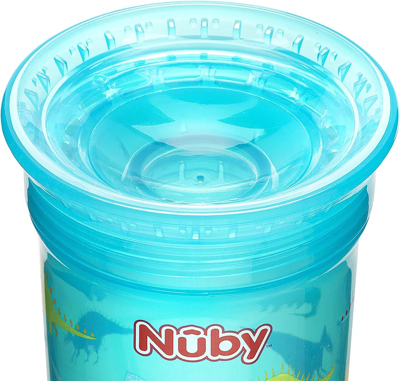 Tasse anti-d/ébordement - Lot de 2 Couleurs al/éatoires Nuby 360 /°