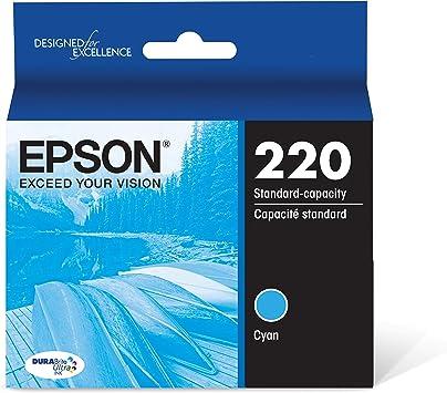Epson T220120-BCS DURABrite Ultra Black /& Color Combo Pack Standard Capacity Cartridge Ink WF-2760, WF-2750, WF-2660, WF-2650, WF-2630, XP-424, XP-420, XP-320