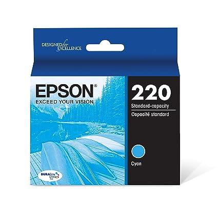Epson T220220 - Cartucho de tinta para impresoras (Cian, XP-320 XP ...