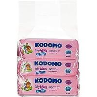 Kodomo Baby Wipes Triple Pack, Moisturizing, 64ct (Pack of 3)