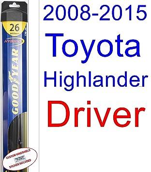 Goodyear Wiper Blades - Juego de repuesto de limpiaparabrisas para Toyota: Amazon.es: Coche y moto